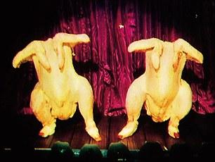 Peter Gabriel dancing chickens sledgehammer