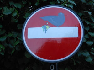 Clet Abraham, City Pigeon